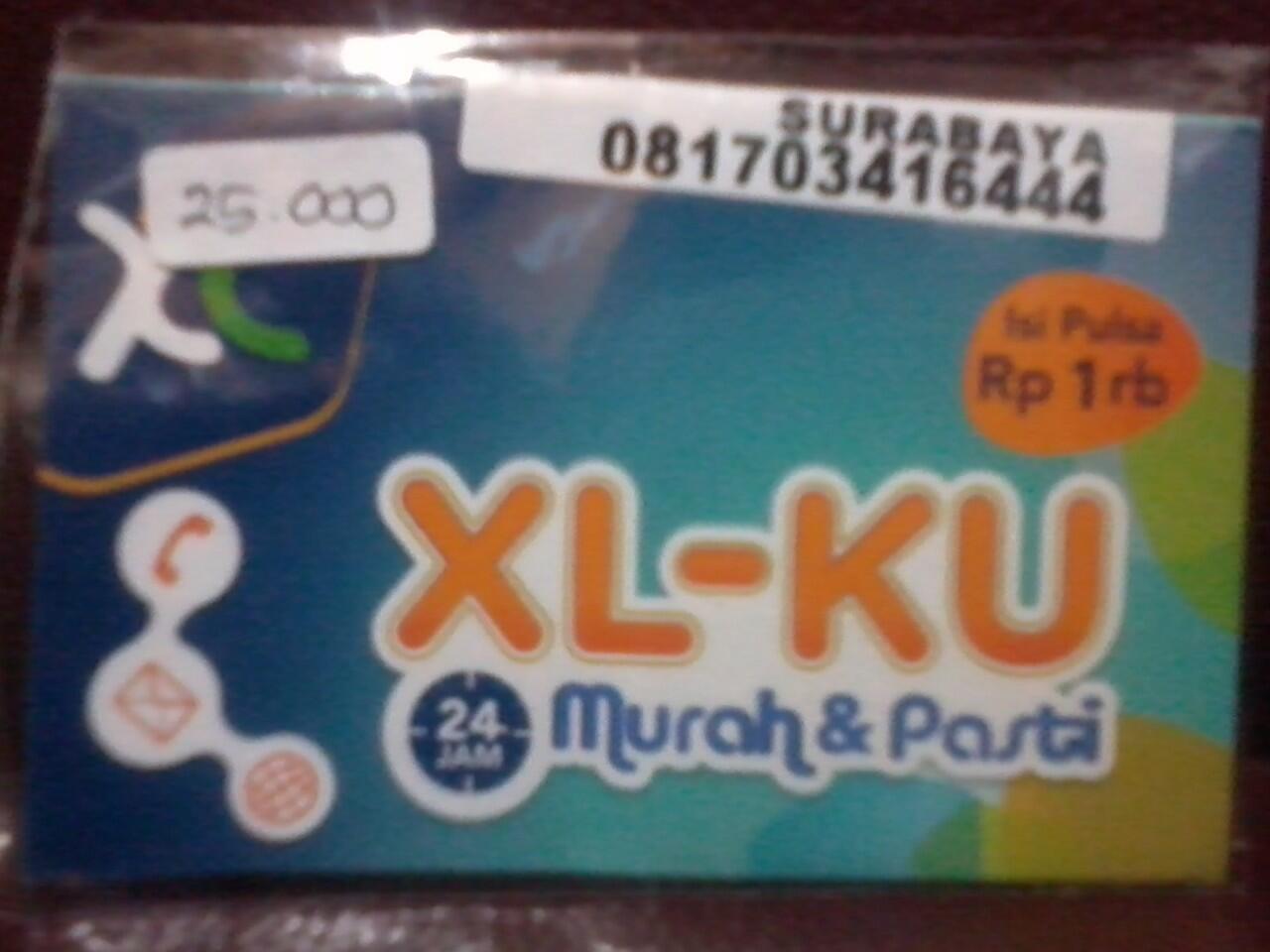 perdana axis xl dan indosat im3 nomor cantik (surabaya)