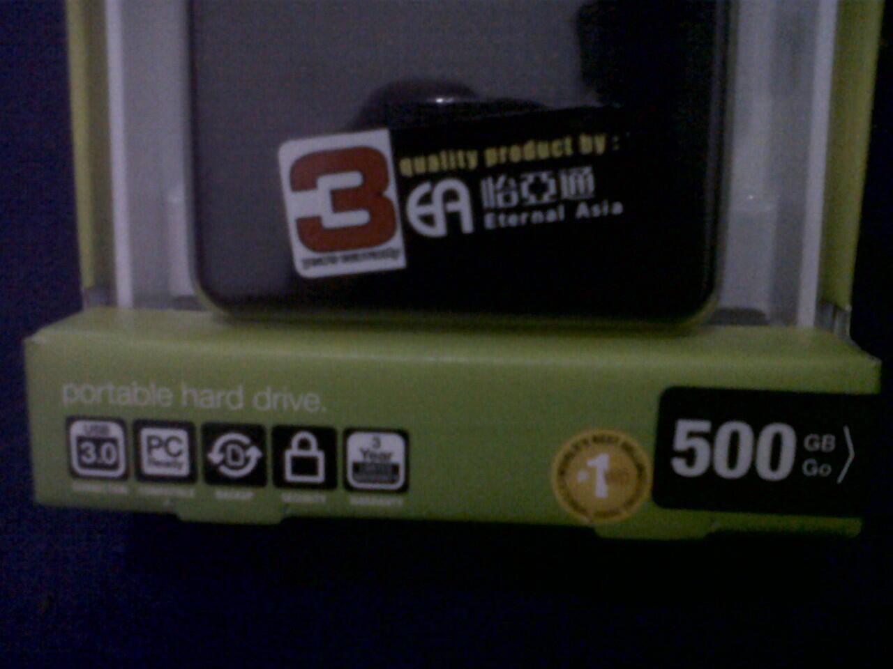 Hard Disk Eksternal My Passport 500 Gb