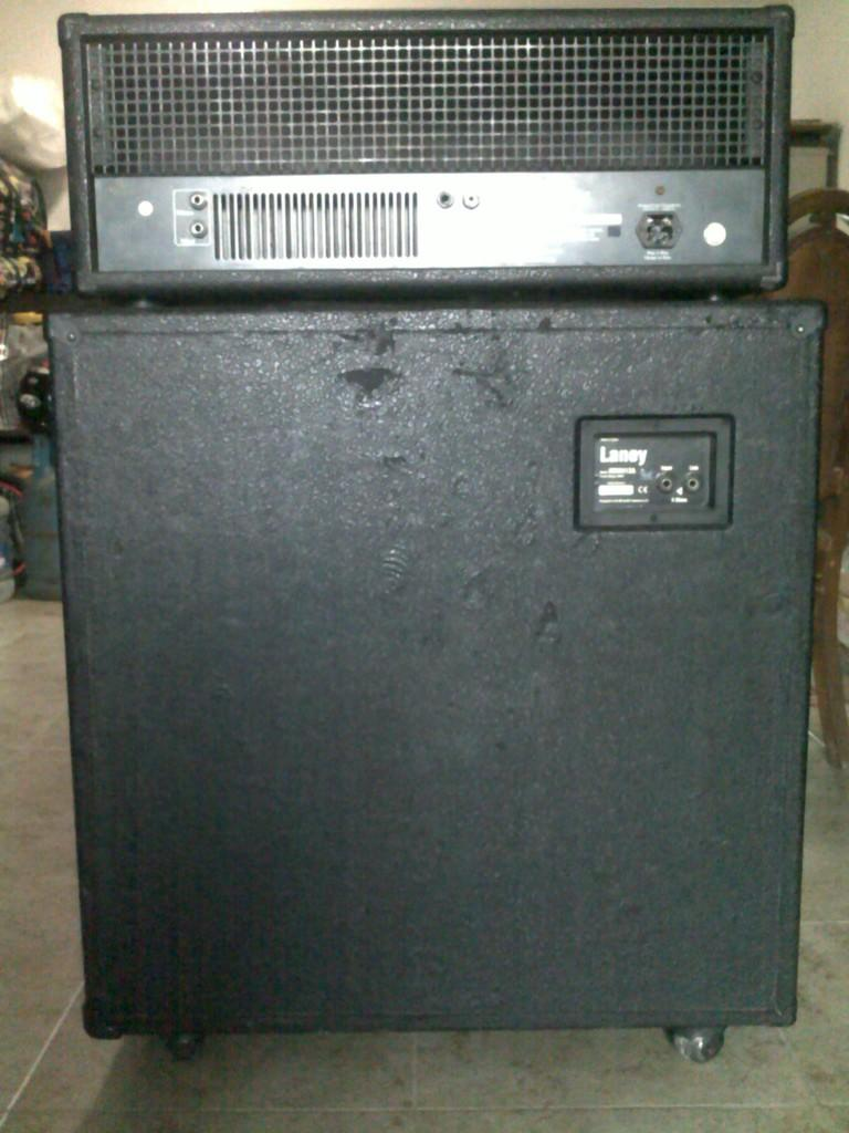 Head Cabinet Laney Mxd 120 H