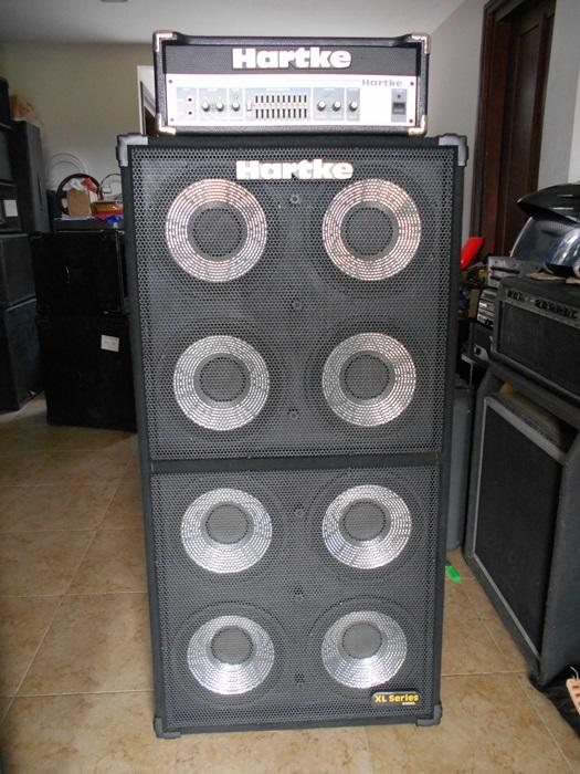 HEAD CABINET HARTKE XL SERIES (810XL) LIKE NEWS