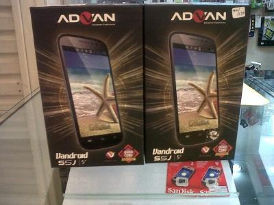 SALE GAN ADVAN S5J Quadcore 1GB RAM