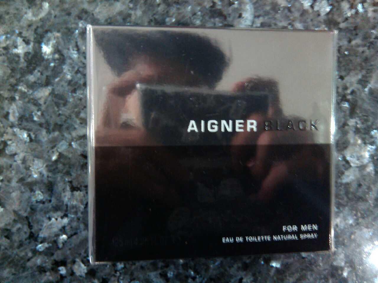 Parfum Original Aigner Black for Men