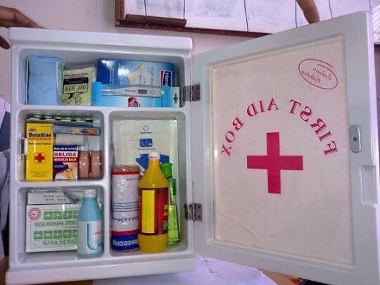 Standar Isi Kotak P3K di Rumah dan Tempat Kerja