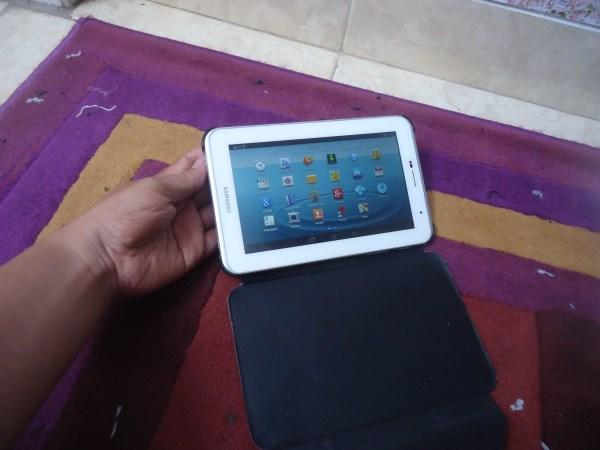 Tablet Samsung Galaxy Tab 2 7.0 P3100 putih mulus normal semua murah