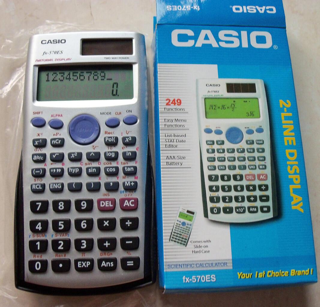 kalkulator CASIO murah gannn...