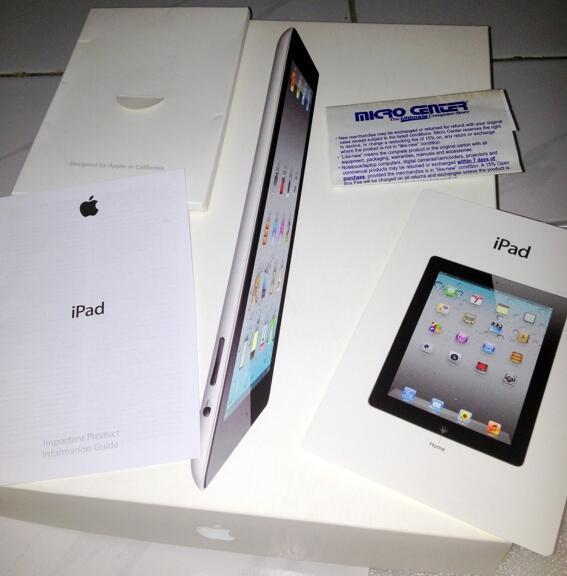 Jual Box iPad 2 Second 32Gb, Yogya