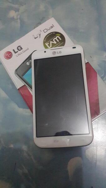 LG L7 II DUAL ( P715 ) White. TAM. COD Bandung only :)