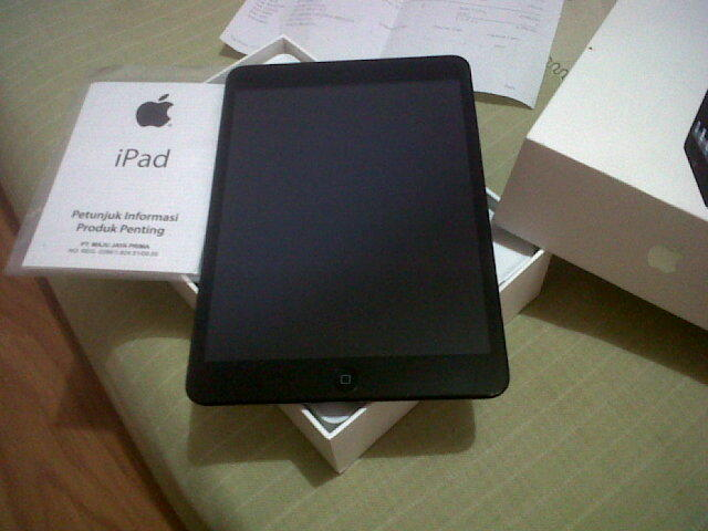 Dijual ipad mini 4G wifi 32GB Black Postel