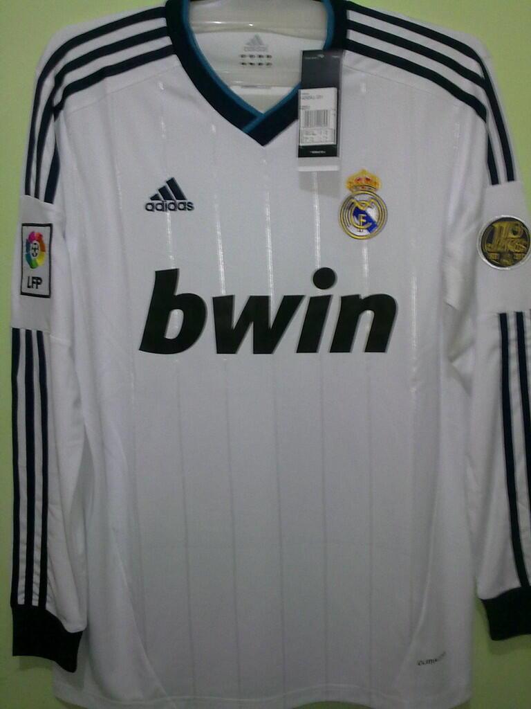 Jersey Grade Ori Longsleeve Real Madrid Home 2012/2013
