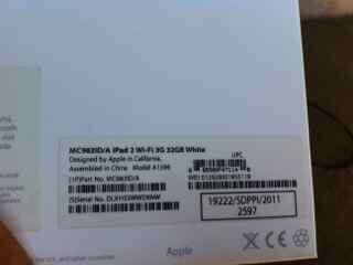 ipad 2 32 white wifi+3G