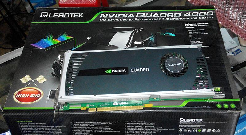 [WTS] Leadtek Quadro 4000