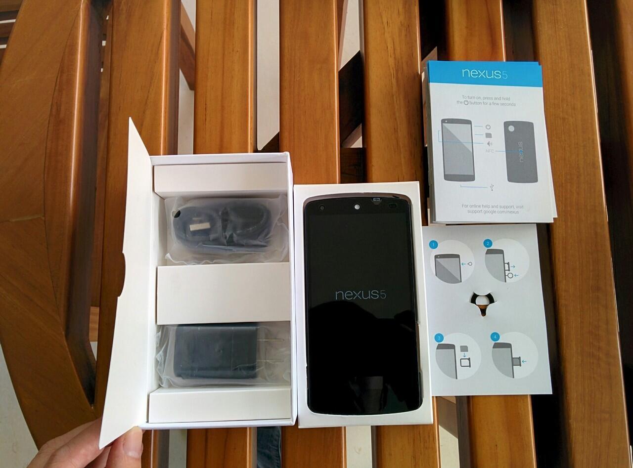 Jual Nexus 5 16GB putih (white) baru