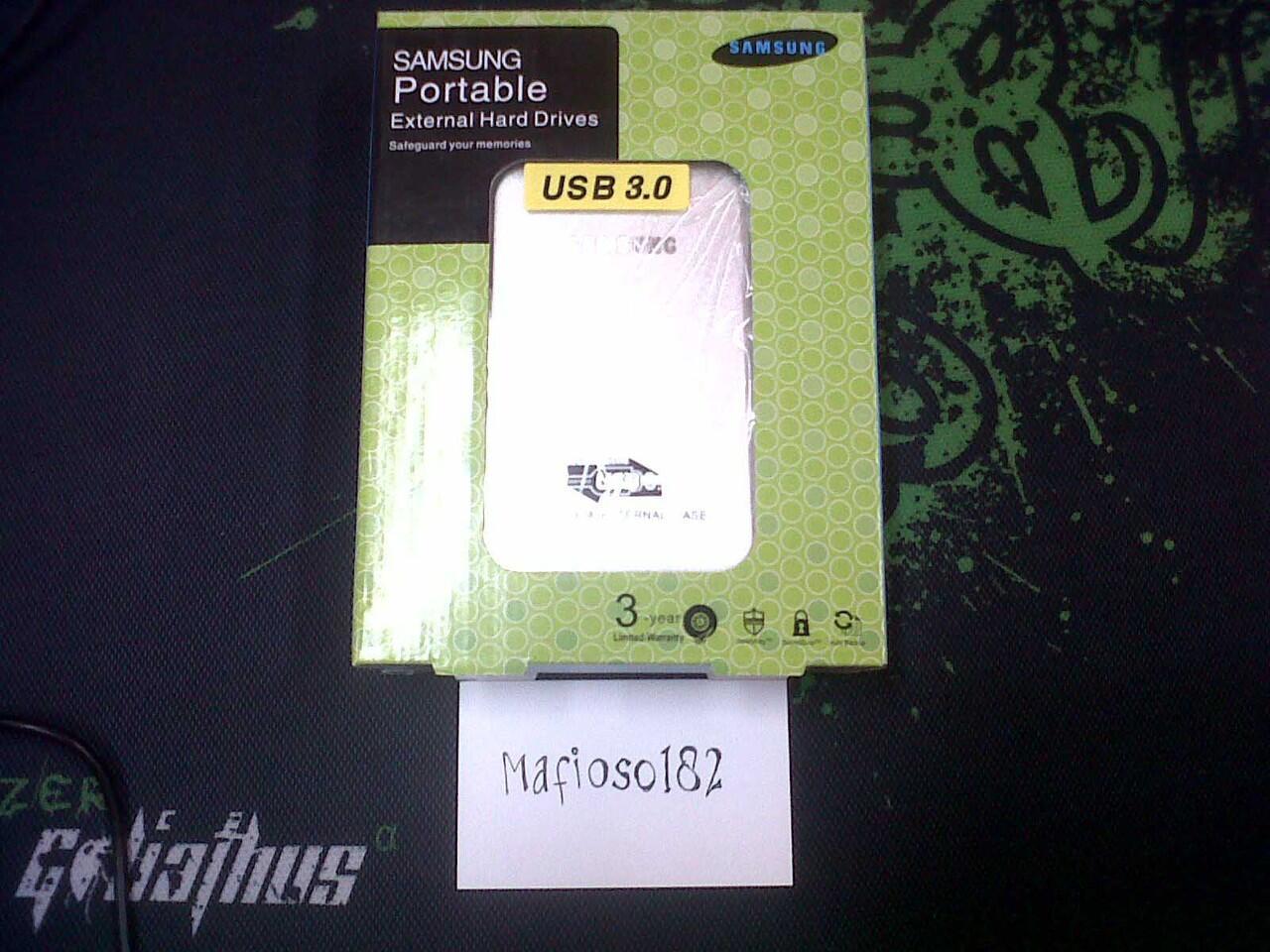 WTS - Samsung Case External HDD 2.5 USB 3.0, Hard Disk Enclosure 2.5 USB 3.0 [Murah]