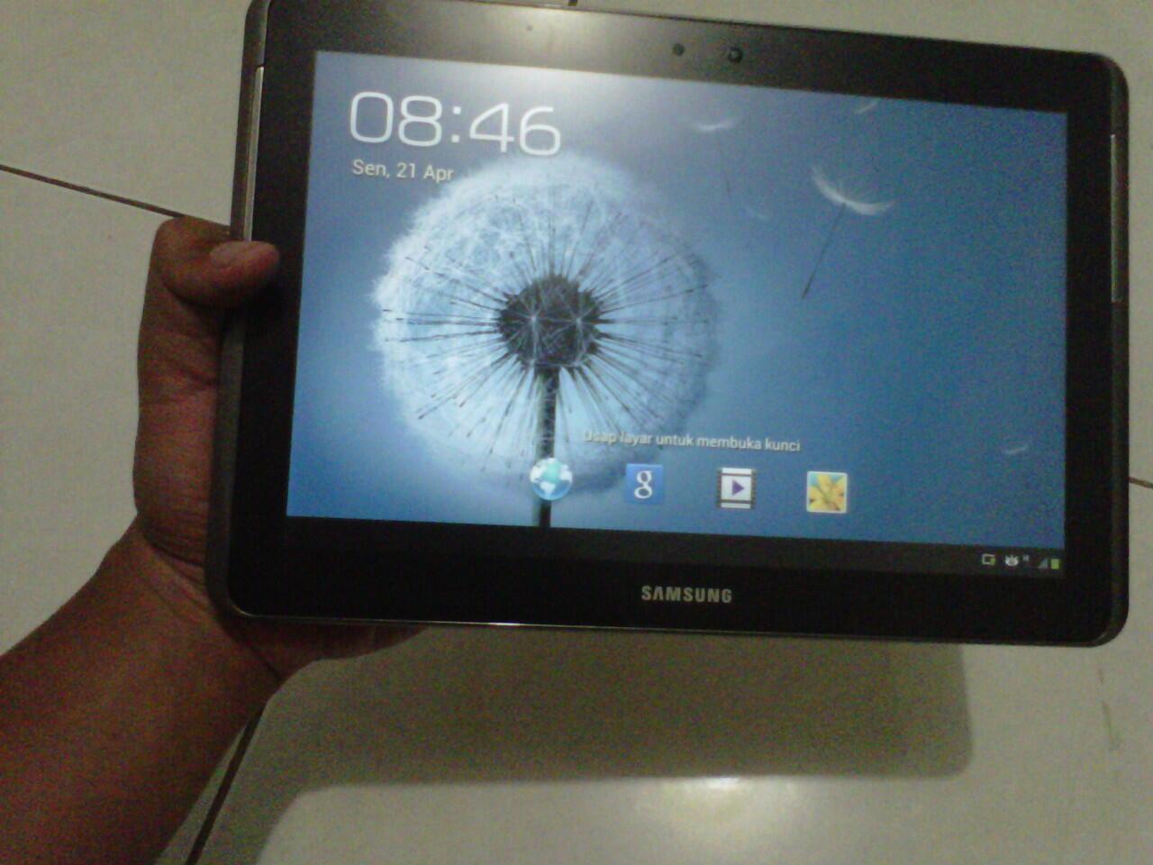 Di Jual Samsung Galaxy Tab2 10inchi (P5100) Mulus & Fullset, Surabaya