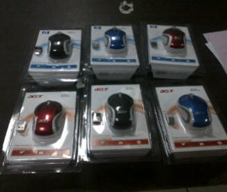 mouse wireless HP I Toshiba I acer