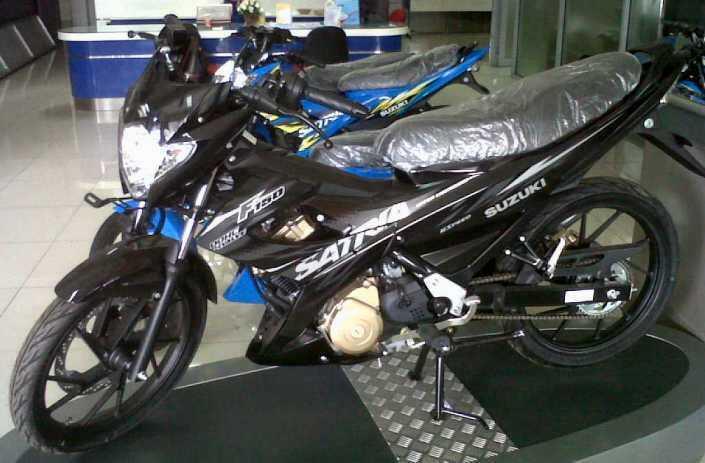 Suzuki Satria F150 2014 Baru ( Promo Kredit ) ....,