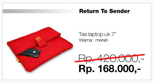 Jual Tas Laptop Hugger, DISKON 60% All Product