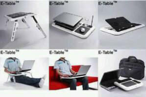 meja notebook e-table