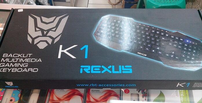 Keyboard Rexus K1 Blacklight