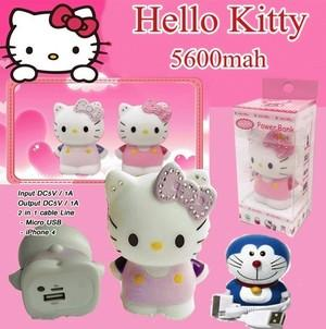 Powerbank hello Kitty 3d