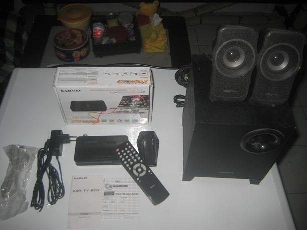 speaker Creative+TV Tuner Gadmei SEMARANG!!!