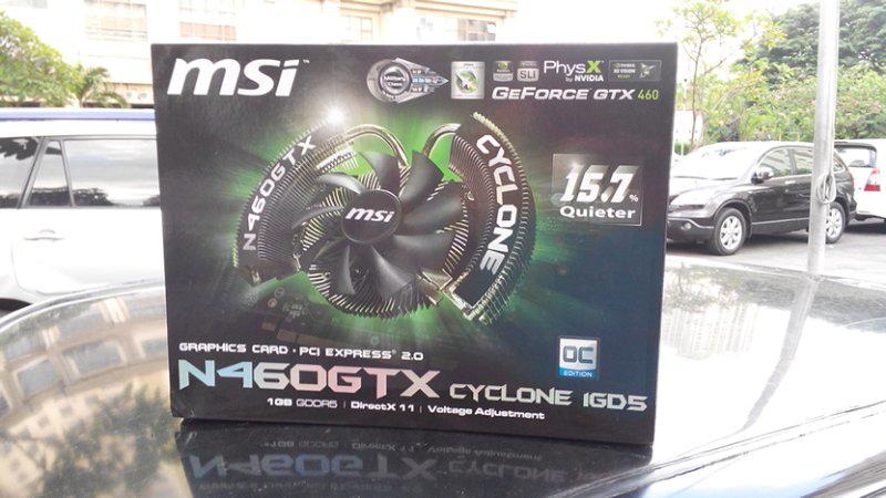 MSI N460GTX 1GB DDR5
