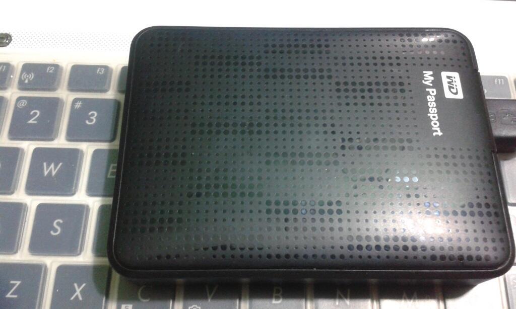 HDD Hardisk Eksternal Western Digital (WD) 1 TB Garansi Panjang [Gratis Film]