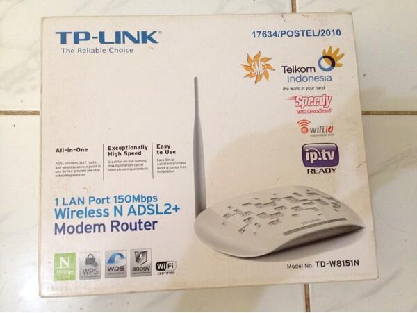 WTS Modem Wifi TP LINK