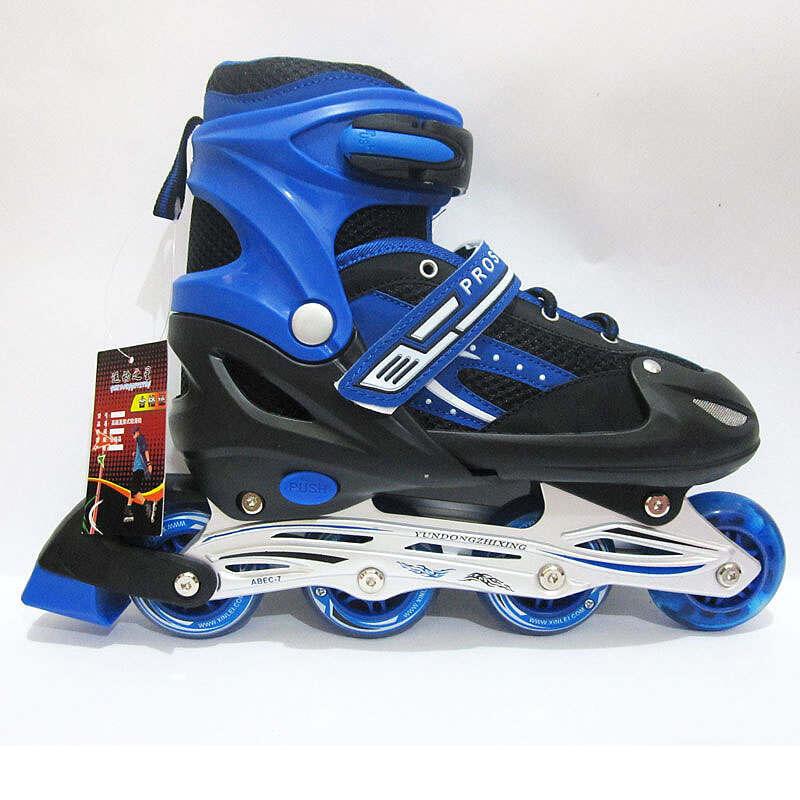 Terjual Sepatu Roda Anak Inline Skate PRO SPEED KARET (Size S f3f553094e