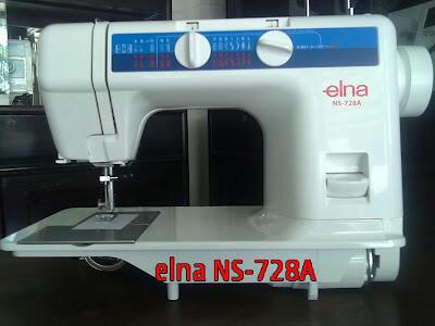 mesin jahit elna 728A/LR1122
