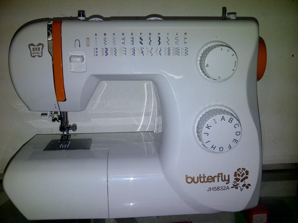 mesin jahit butterfly 5832A
