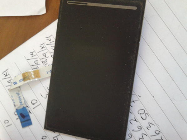 Touch Pad notebook a-note