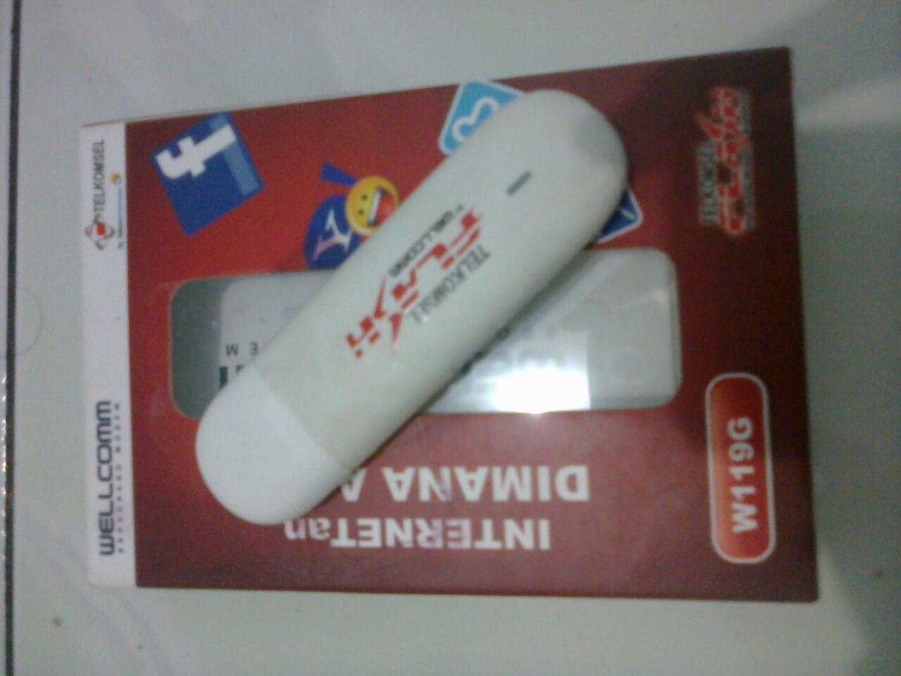 Modem Telkomsel Flash Wellcomm W119G