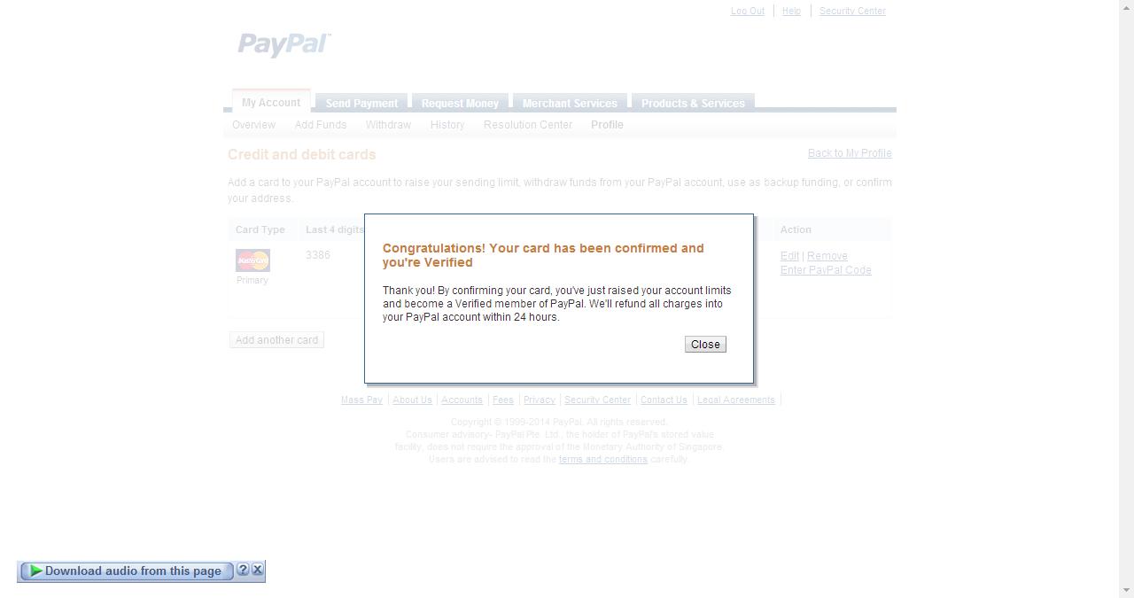 VCC Paypal Murah, Saldo Paypal, VCC Play Store, VCC Developer Google, VCC Etsy, Skril
