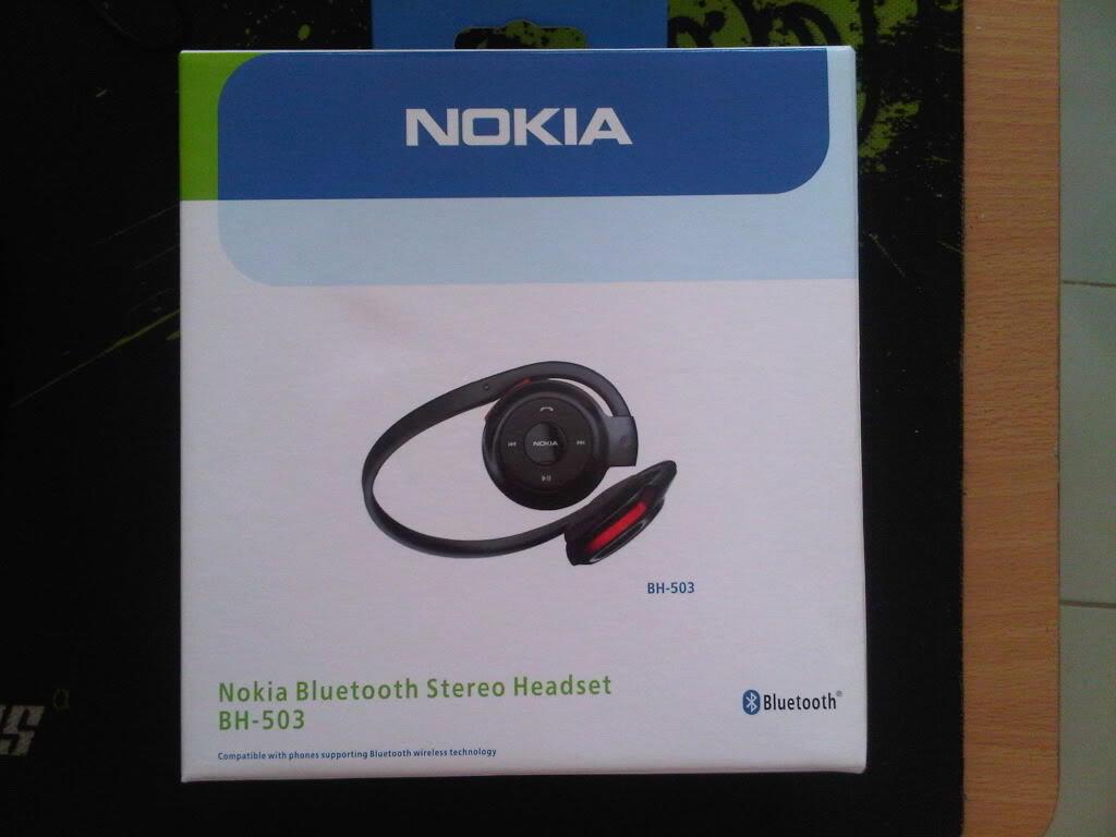 Headset Bluetooth Nokia HS 503