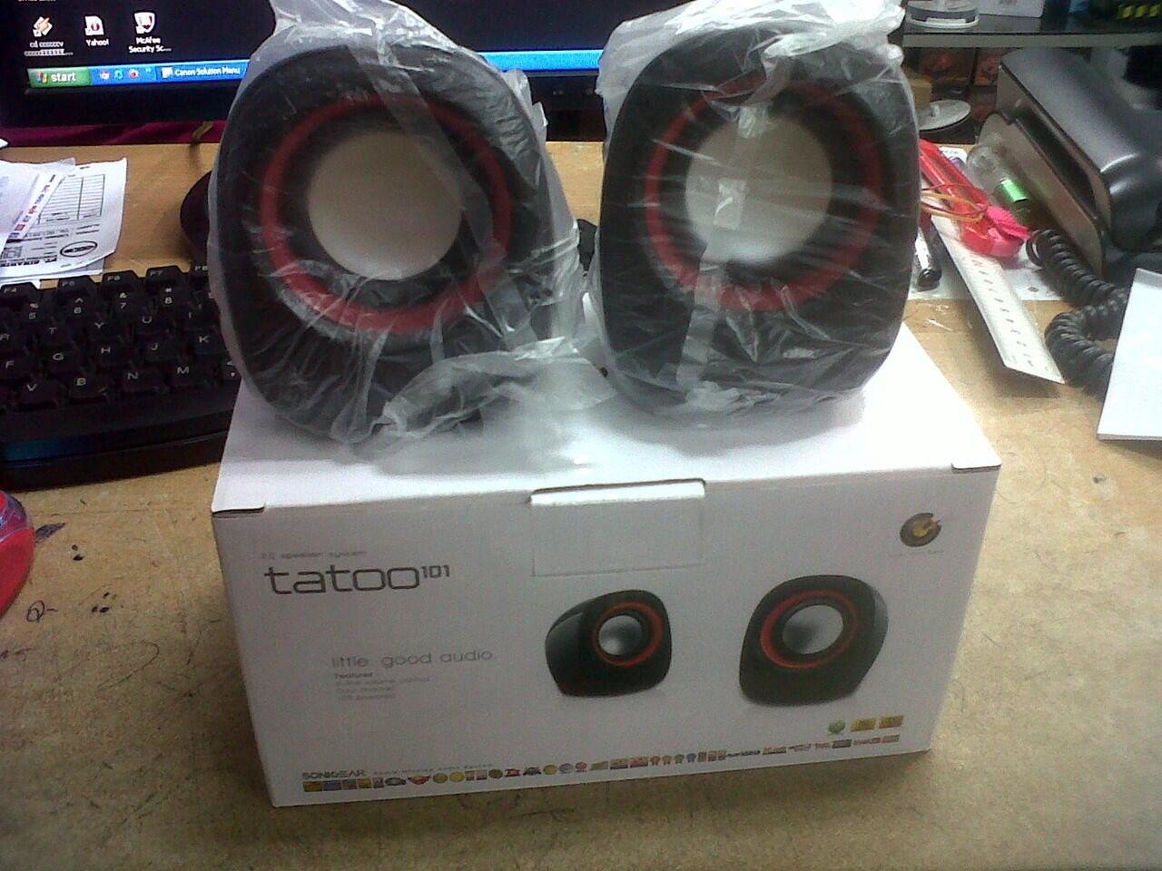 Speaker Sonic Gear 101