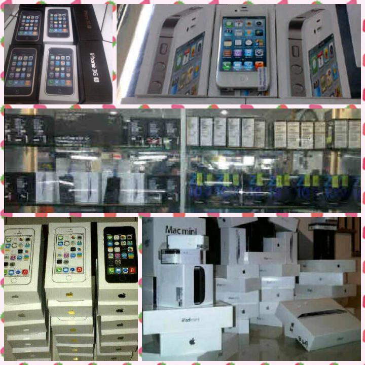 APPLE IPHONE 4G 16Giga CDMA Black   White Garansi Original Fullset segel fee98a3a46