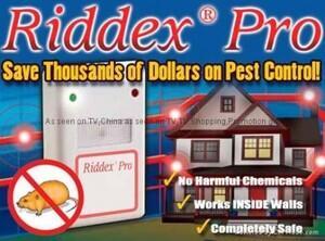 Riddex Plus Pest Controller - pengusir tikus,Kecoak,Nyamuk Tanpa Racun