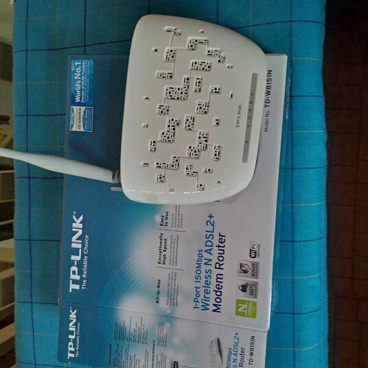 MODEM ROUTER WIRELESS N ADSL2+ TP-LINK