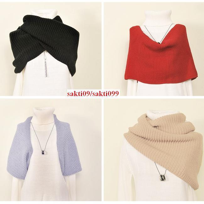 WooL Scarf Handmade 100% NEW Import From KOREA Untuk WANITA