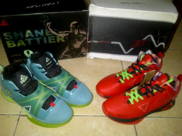 sepatu basket original PEAK new parker TP91 dan shane battier VII tag jordan,kobe,kd