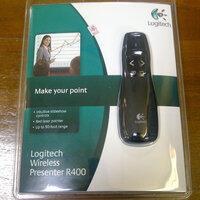 Laser Pointer Logitech R400