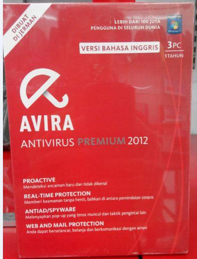 AVIRA Antivirus Premium - 3 User @Kliknklik Mangga Dua Mall