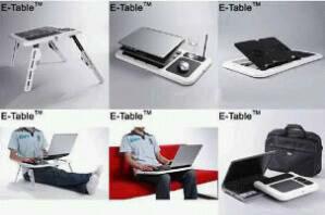 meja notebook e-table