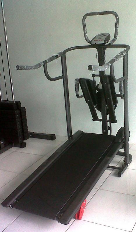 treadmill manual 4 fungsi anti gores
