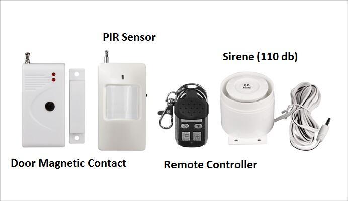 ▄█ Home Security System Wireless Alarm - Canggih - Mungil - Murah -█▄
