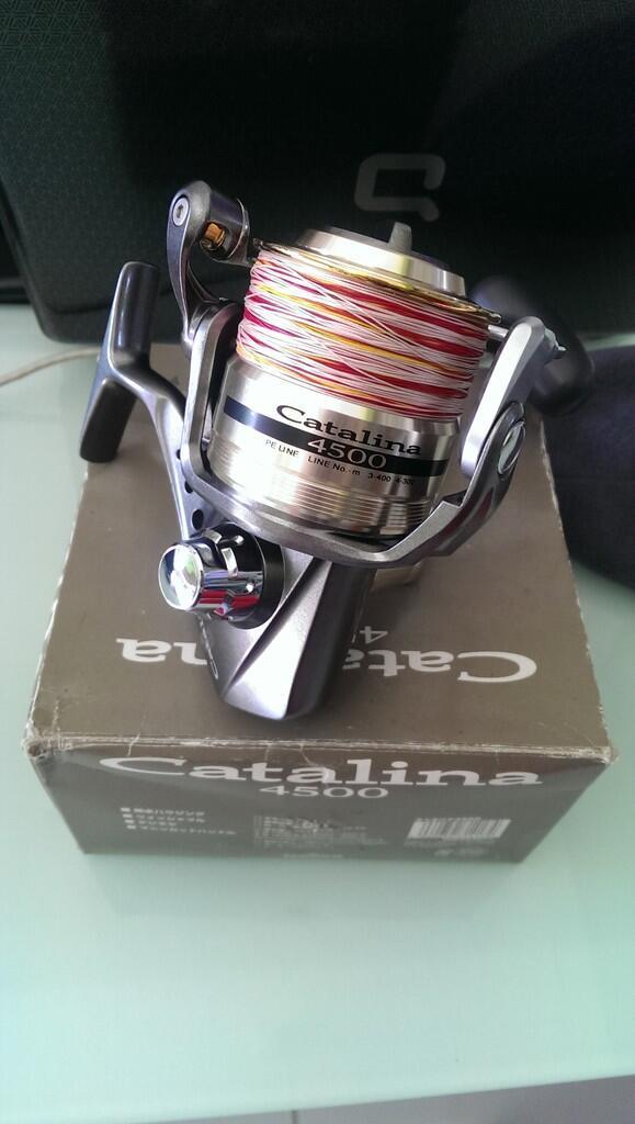 Alat Pancing, Real Daiwa Catalina 4500 / Jigging