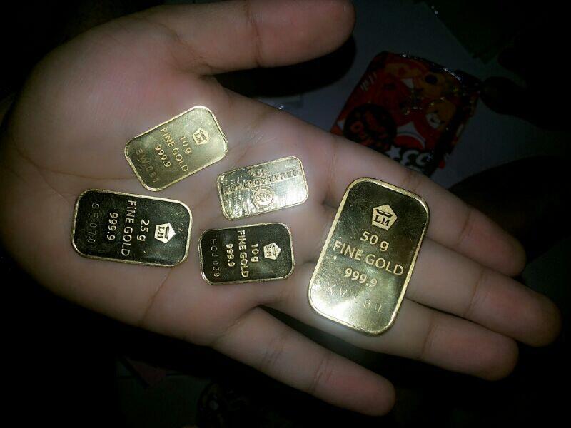 Terjual Emas Antam N Semar Batangan Jogjayogya 105 Gr Kaskus