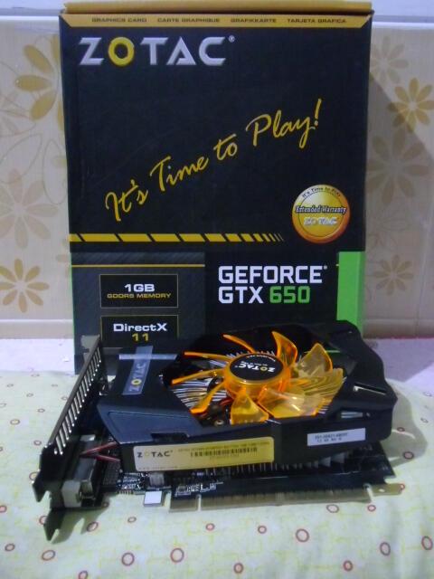 Zotac GTX 650 Synergy 1GB 128 Bit Hemat Daya