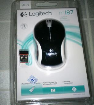 mouse logitec 187 new mumer dah masuk gan